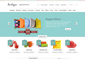 eCommerce themes - Boutique theme