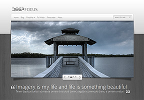 Deepfocus - Best WordPress themes