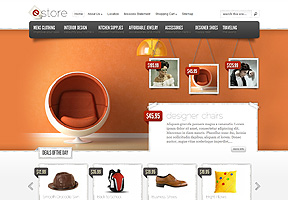 eCommerce themes - eStore wp theme