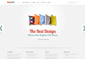 LeanBiz - Best WordPress themes