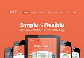 Best WordPress Themes - Nimble