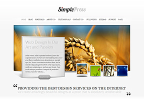 Responsive Theme - Simple Press