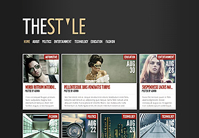 Responsive Theme - The Style